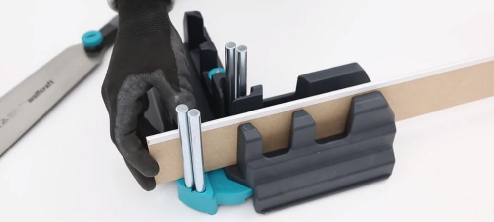 Comment poser des plinthes sans se tromper outil wolfcraft boîte à onglets
