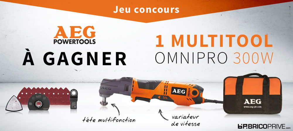 Image Article - Jeu Concours AEG Multitool