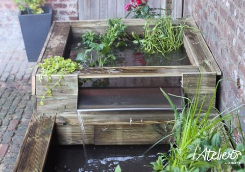 Rafraîchir son jardin en créant un bassin hors sol - Brico Privé