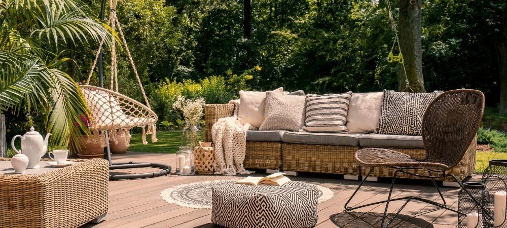 Salons de jardin : les matériaux tendance pour 2019 - Brico Privé