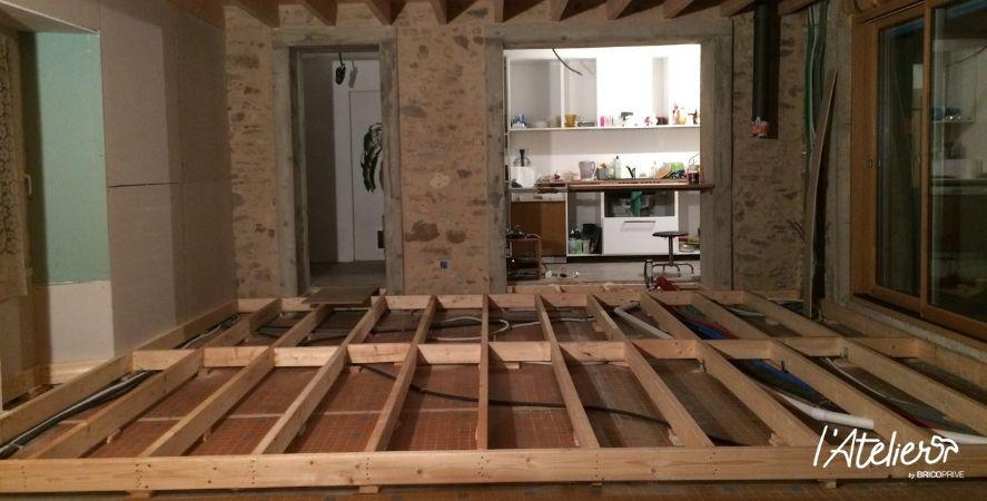 Rénovation d'une pièce de vie en conservant le cachet de l'ancien - Brico Privé