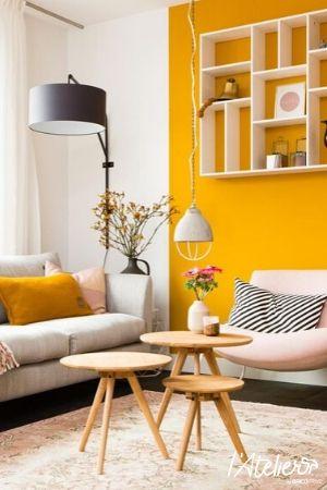 4 raisons d'adopter le jaune moutarde en déco - Brico Privé