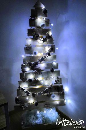 DIY : fabriquez votre sapin de Noël en palettes
