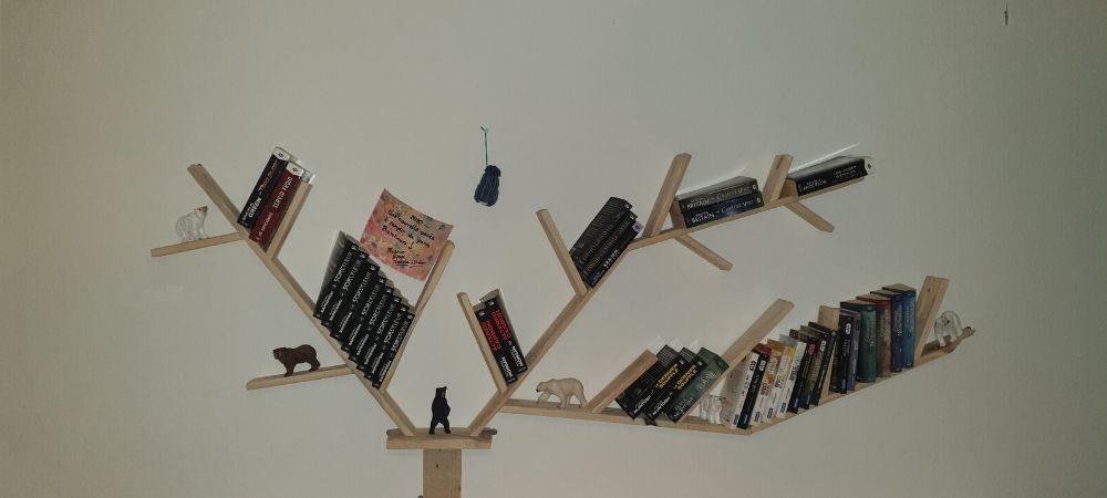 bibliothèque originale pas chere palette