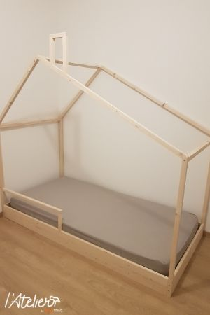 DIY fabriquer lit cabane enfant