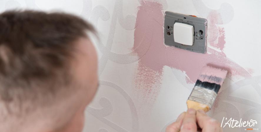 Comment peindre un papier peint intissé