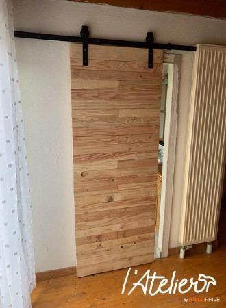 fabriquer porte bois de palette