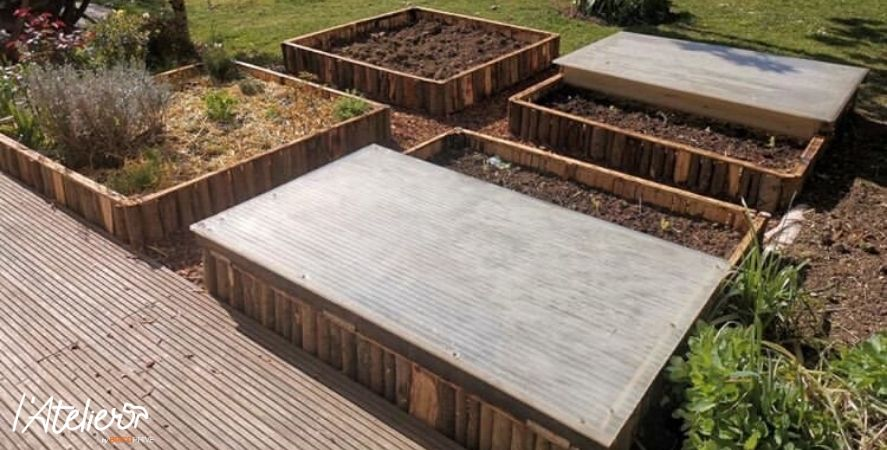 chassis potager