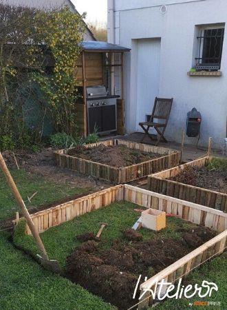 construire potager