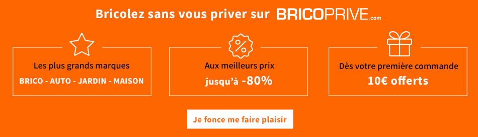Devenez membre de BricoPrivé gratuitement