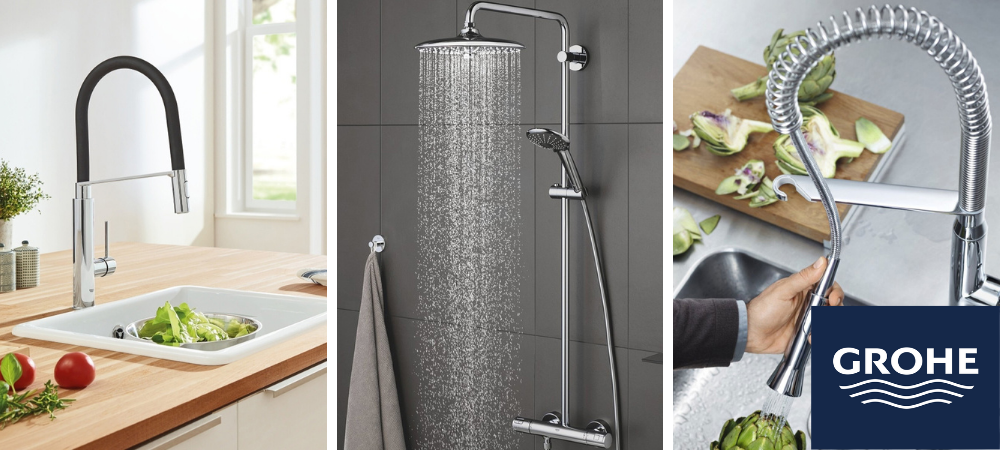 Les 6 indispensables GROHE